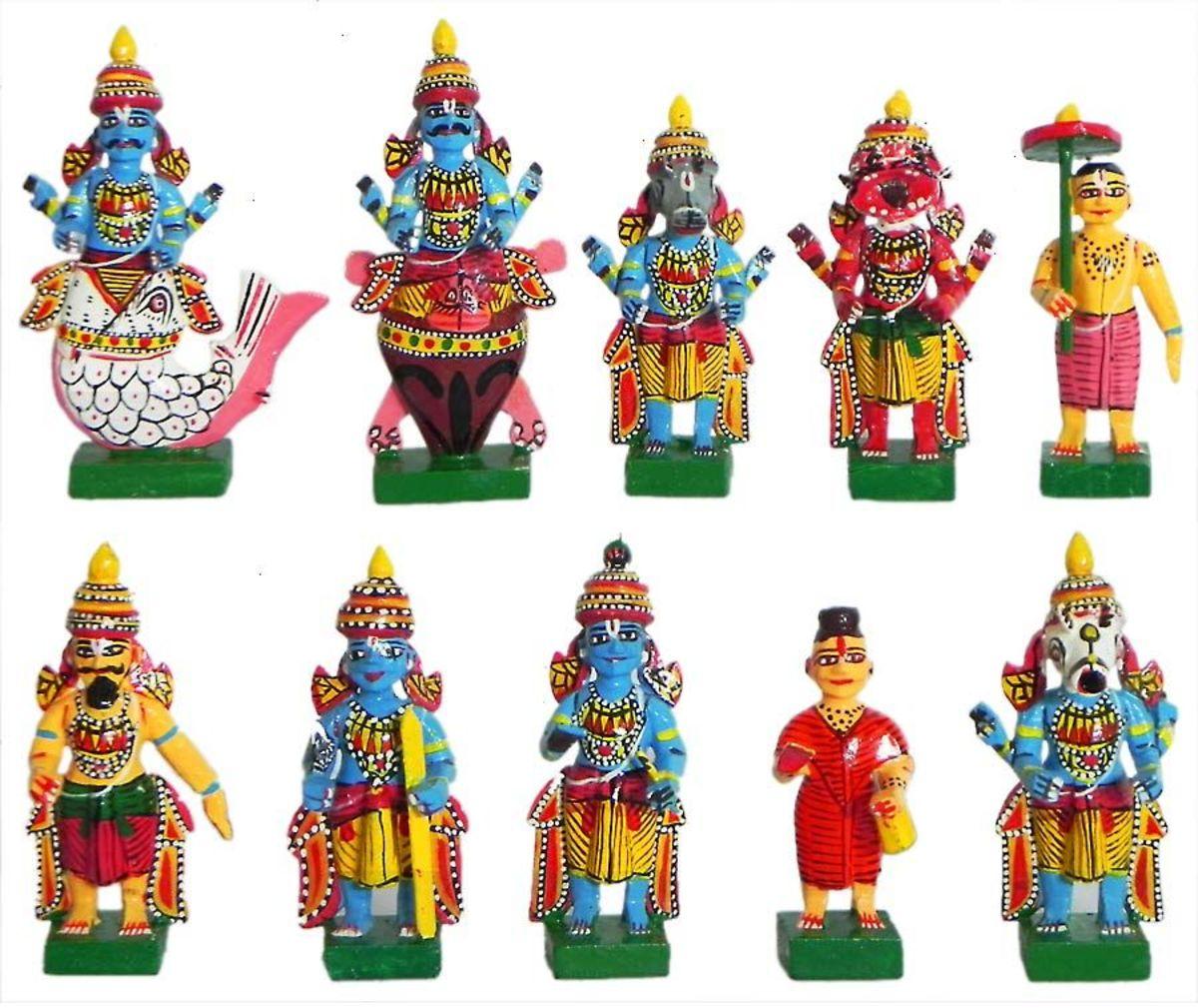 Dashavatar dolls