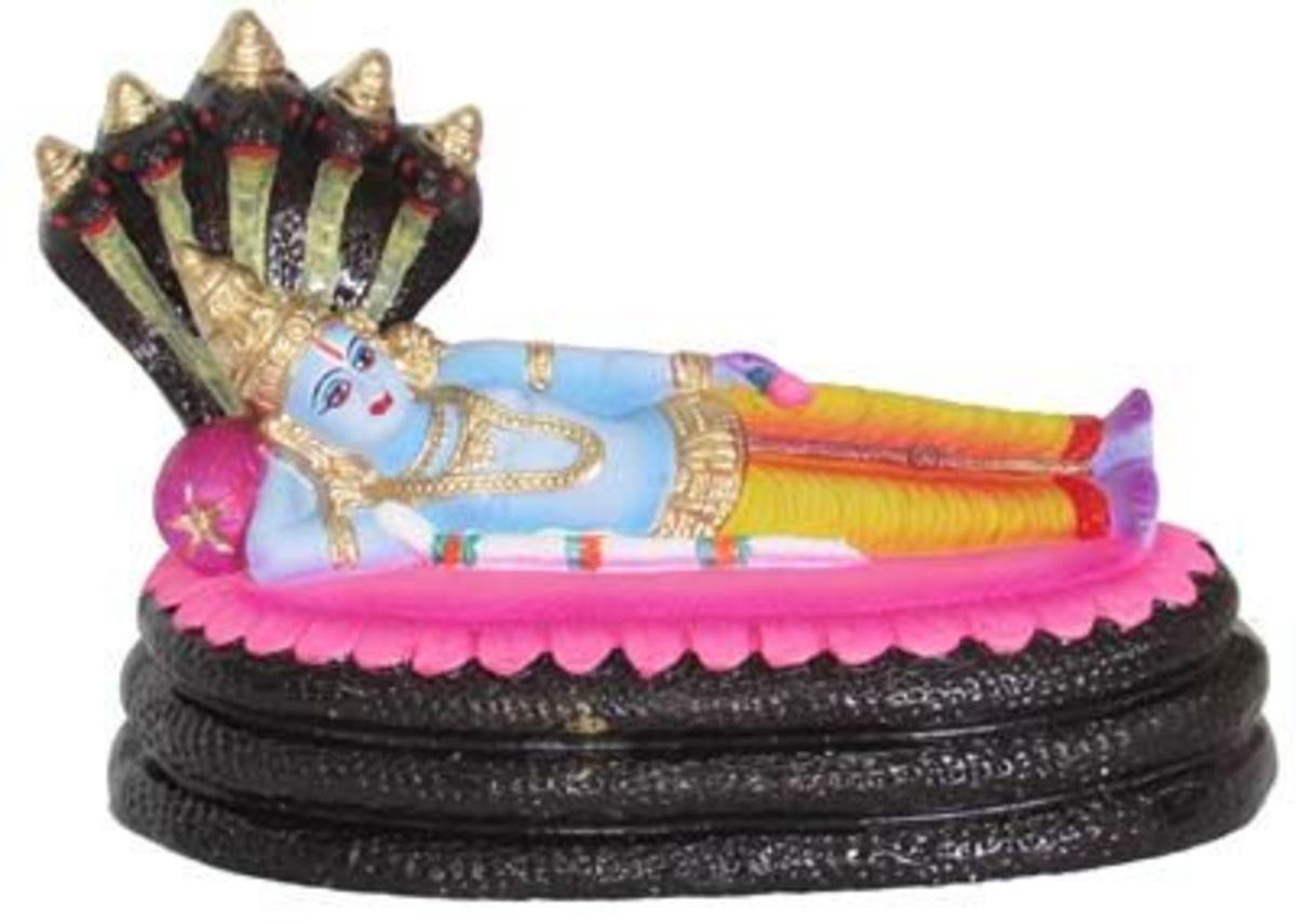 Anantha Sayana doll