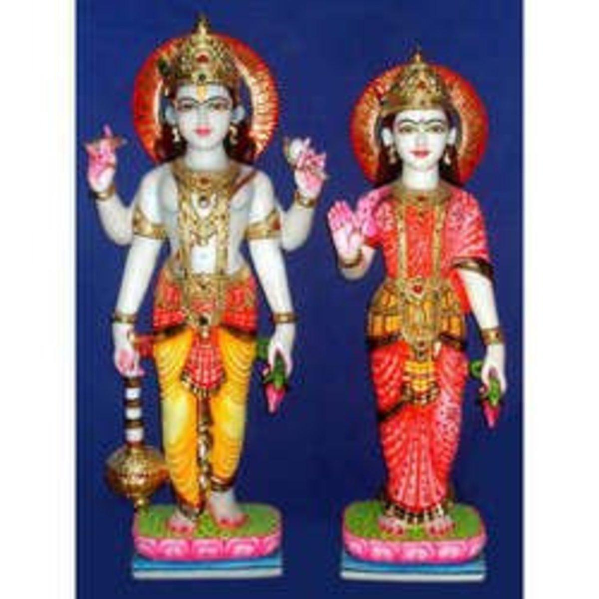 Laxmi Narayan doll