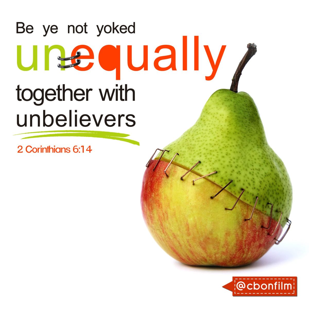 Don't lose your salvation because of unbelievers