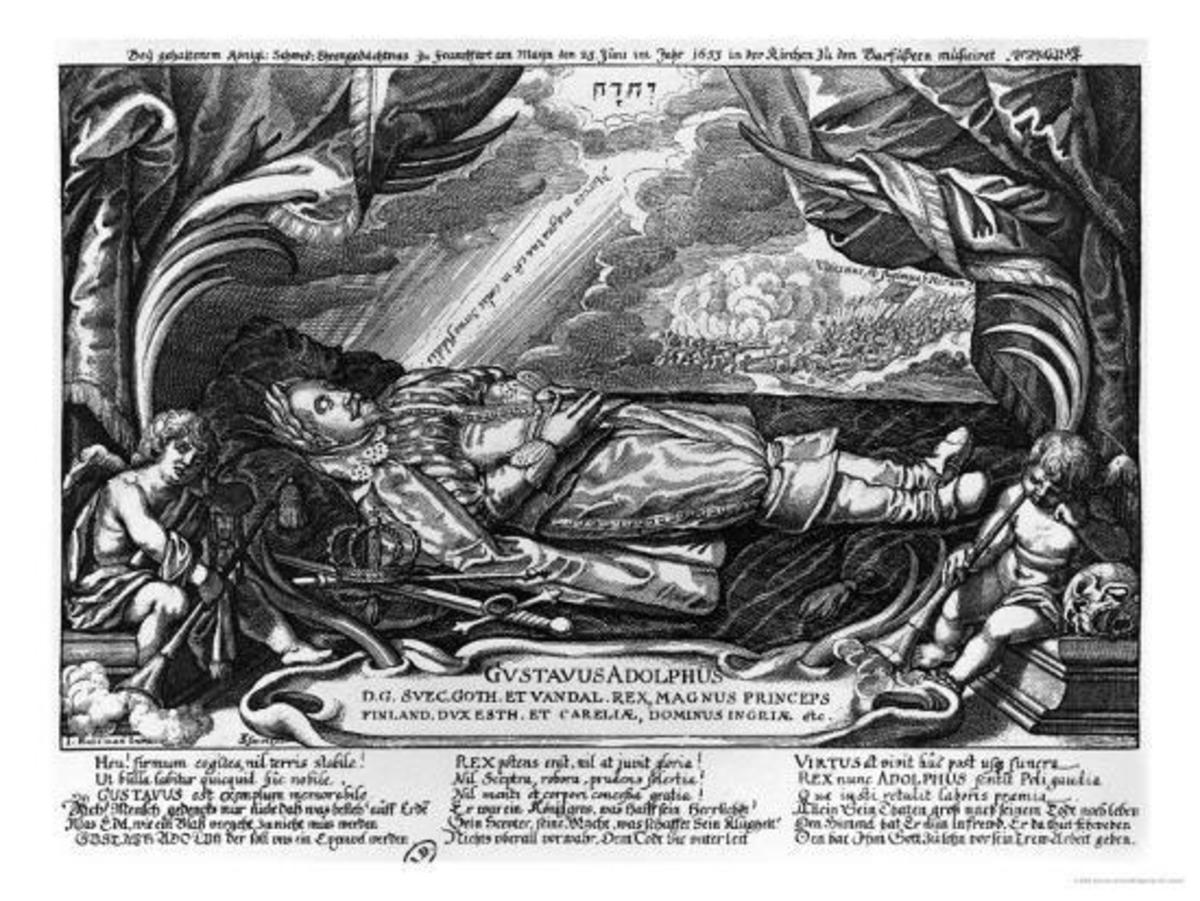 Gustavus II Adolphus in repose