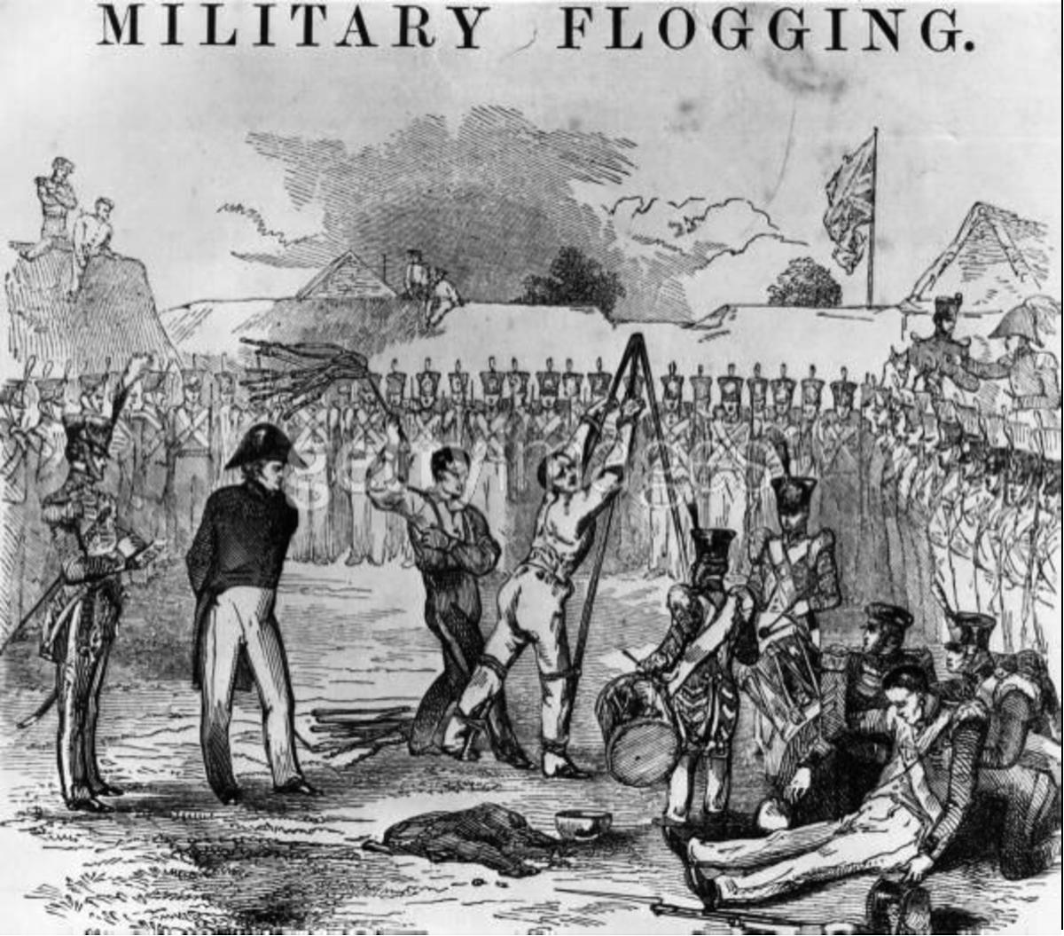 Military Flogging