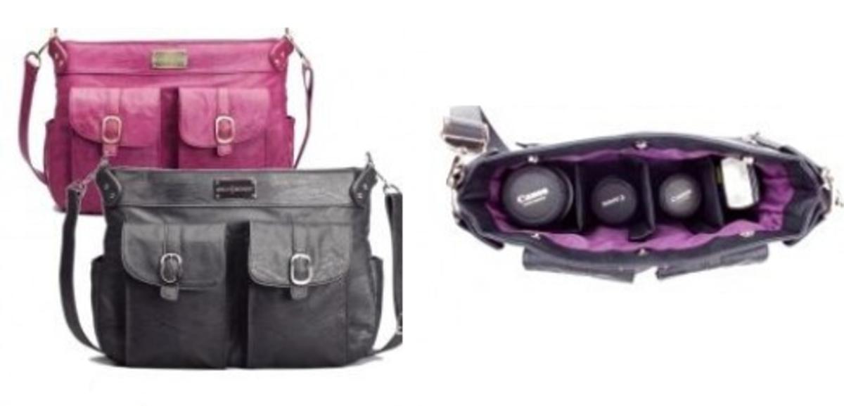 Lady's camera bag