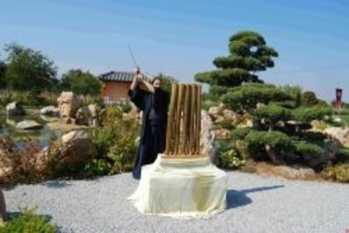 Tameshigiri - bamboo cutting