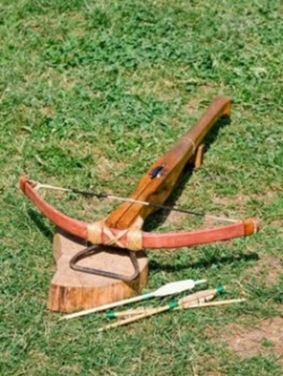 Materials for a Homemade Crossbow
