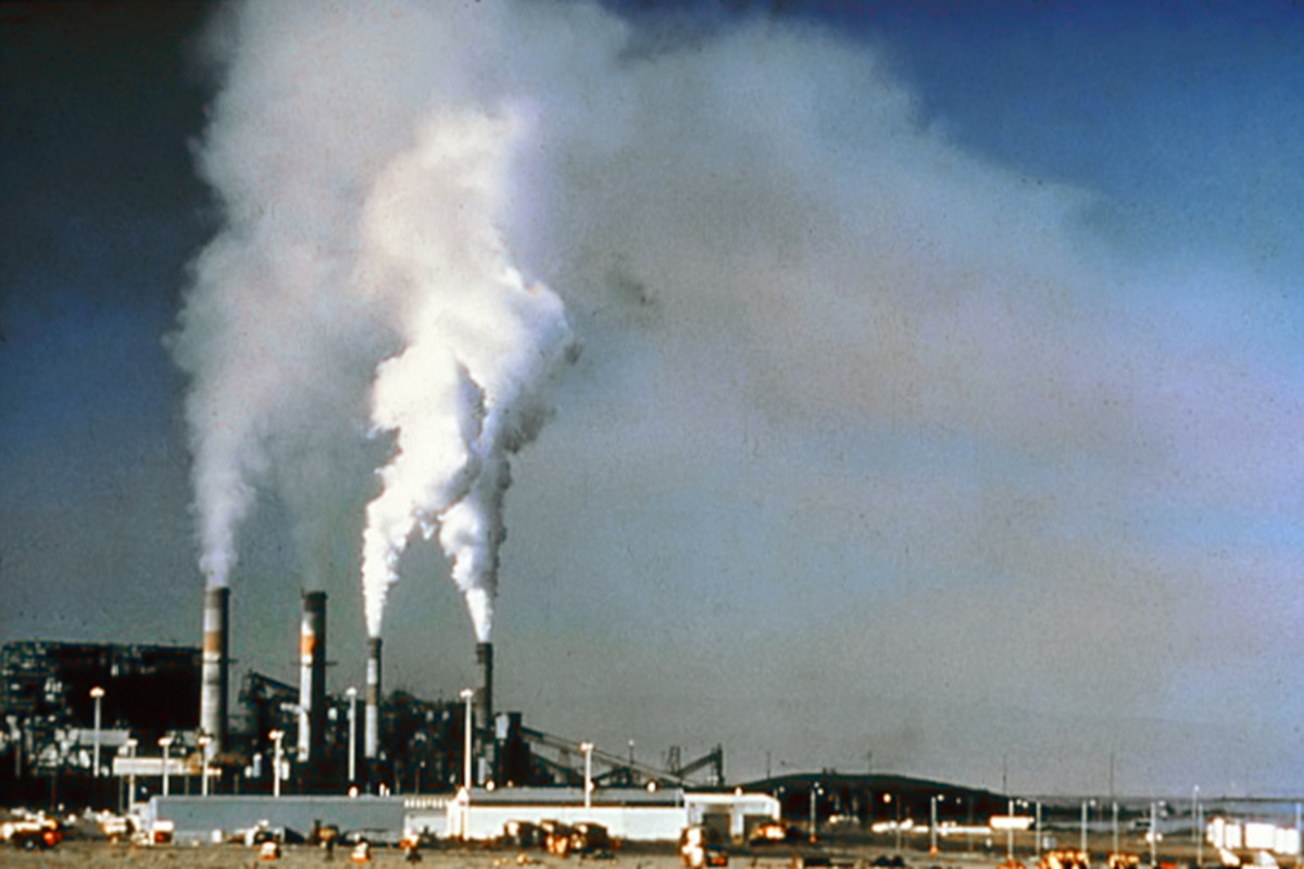 Air pollution (public domain)
