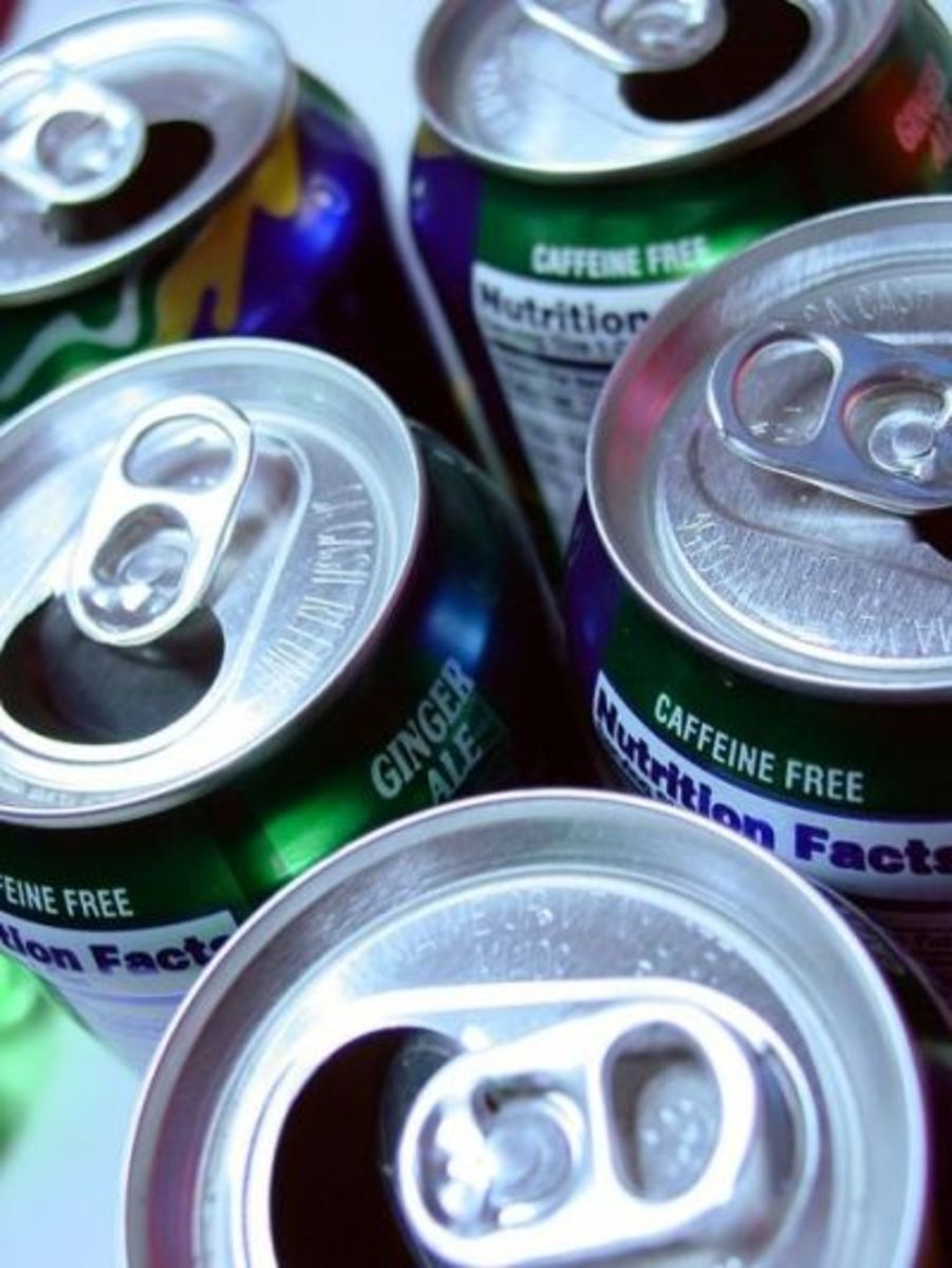 Before you toss the empty can into the recycle bin, take off the tab!