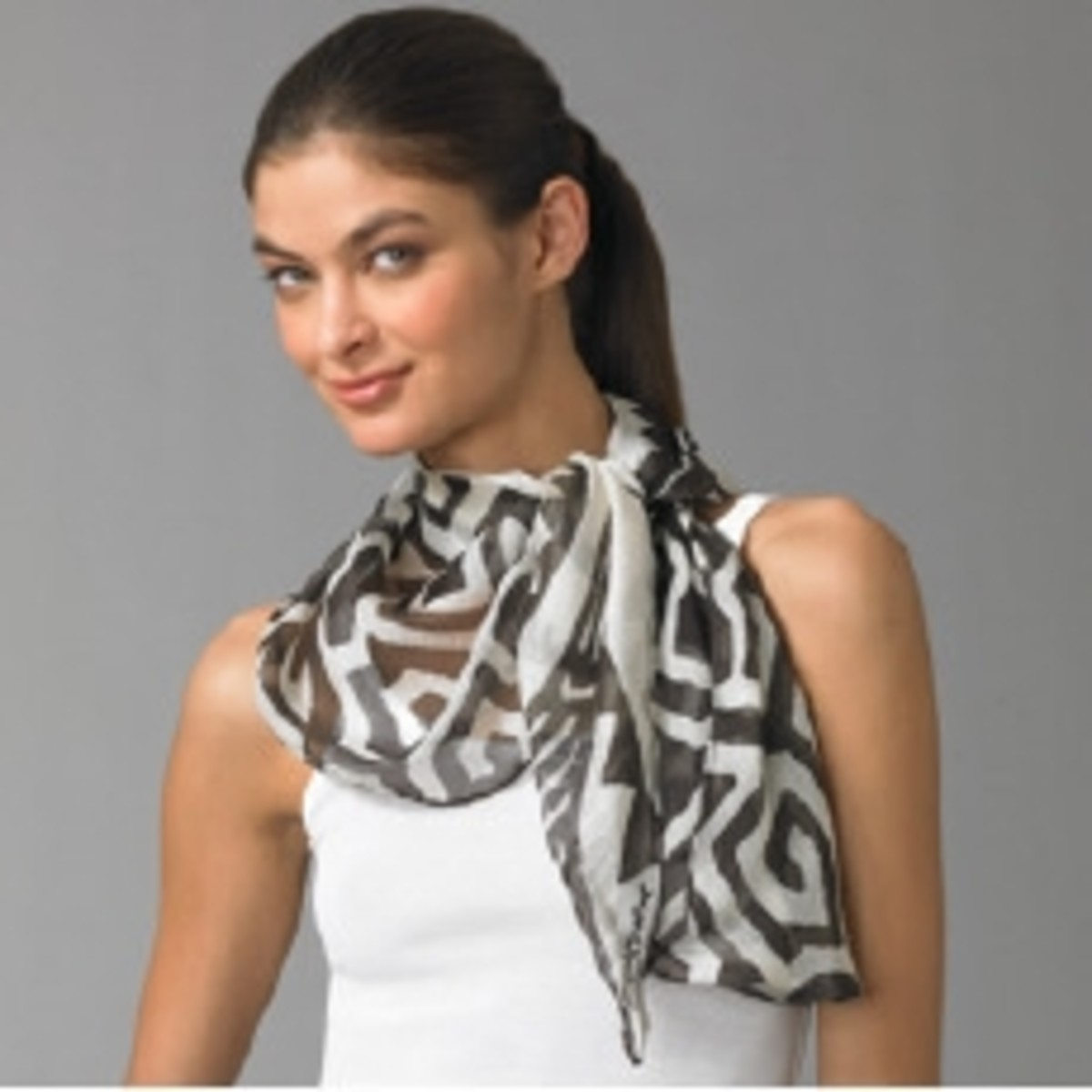 The Scarf, stylish accessory ties up your fashion statement
