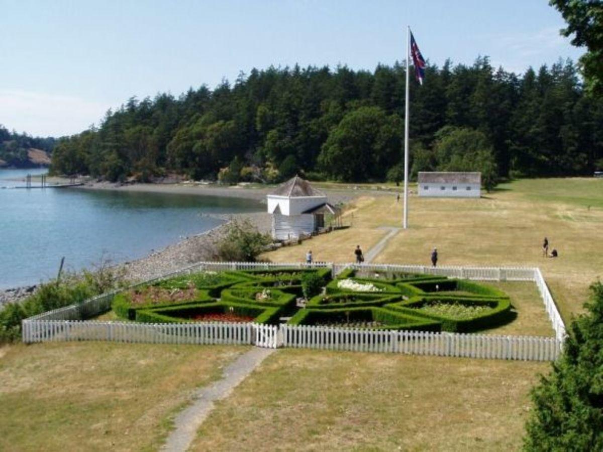 San Juan Island English Camp