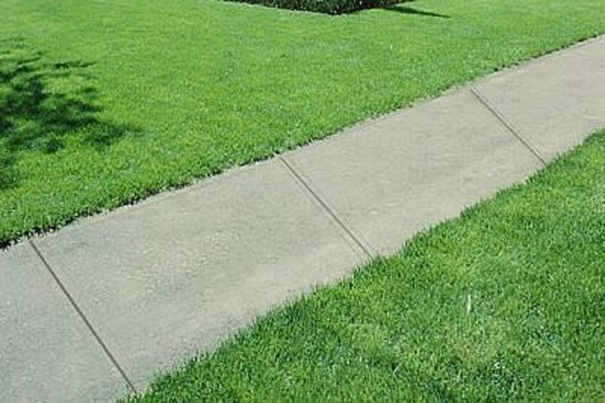 How to build a sidewalk