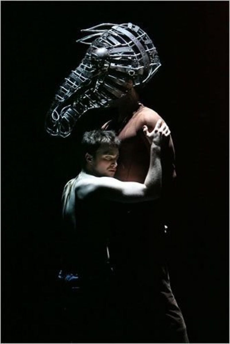 an analysis of the act one of equus and the role of alan Character analysis of  the role of dysart is to treat alan  hesther that he is jealous of alan and his passion for equus that boy has known a passion.