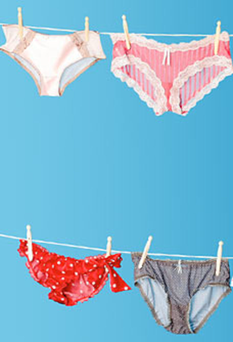 The mystery of the disappearing underwear