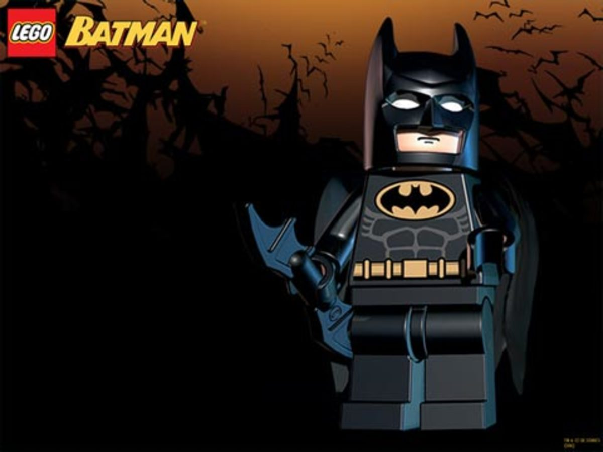Lego Batman Strategy Guide 106: Wayne Manor and Arkham Asylum Bonus Levels