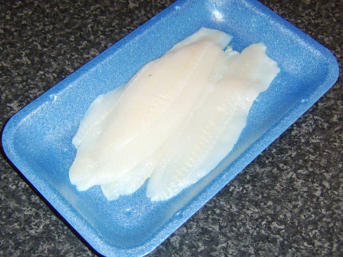 Lemon sole skinned fillets