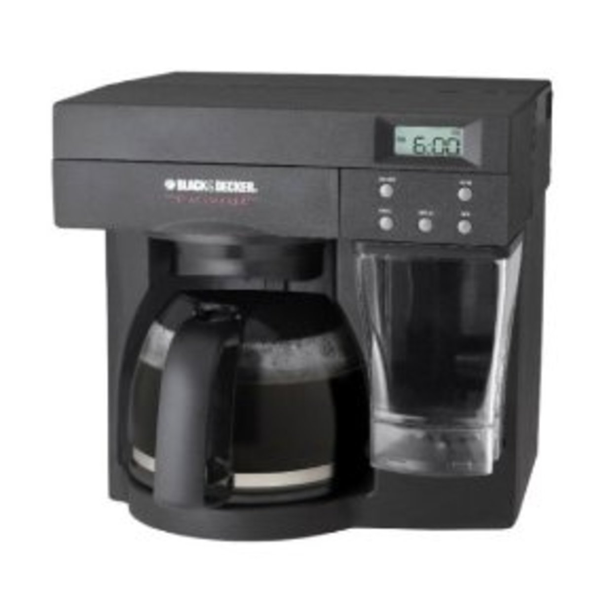 Black & Decker ODC440B Spacemaker Coffeemaker, Black