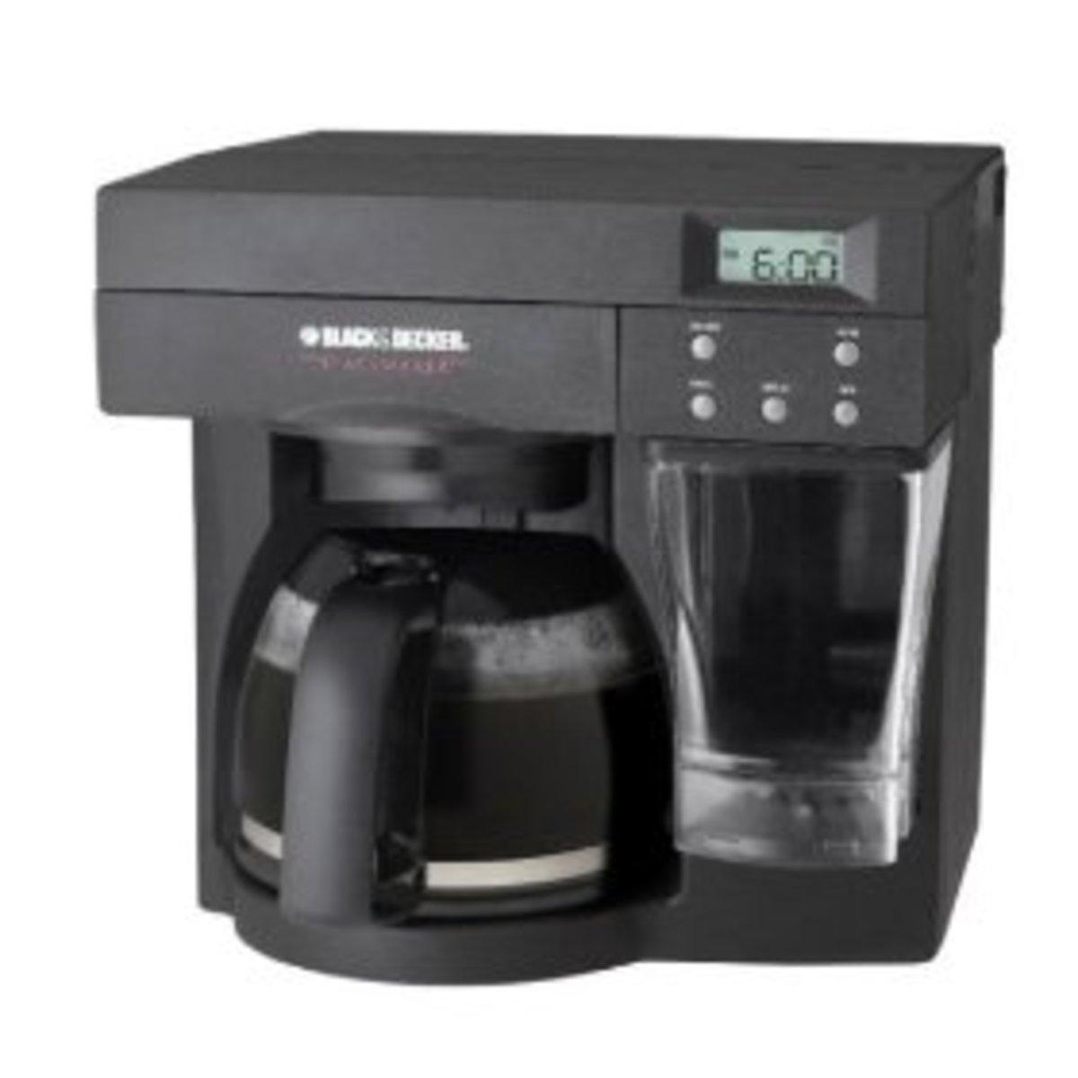Black & Decker ODC440B Spacemaker Coffeemaker, Black