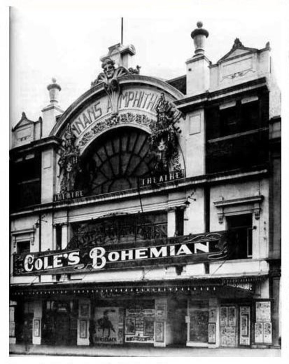 The first Cinema I  visited before being restored and renamed St.James Theatre