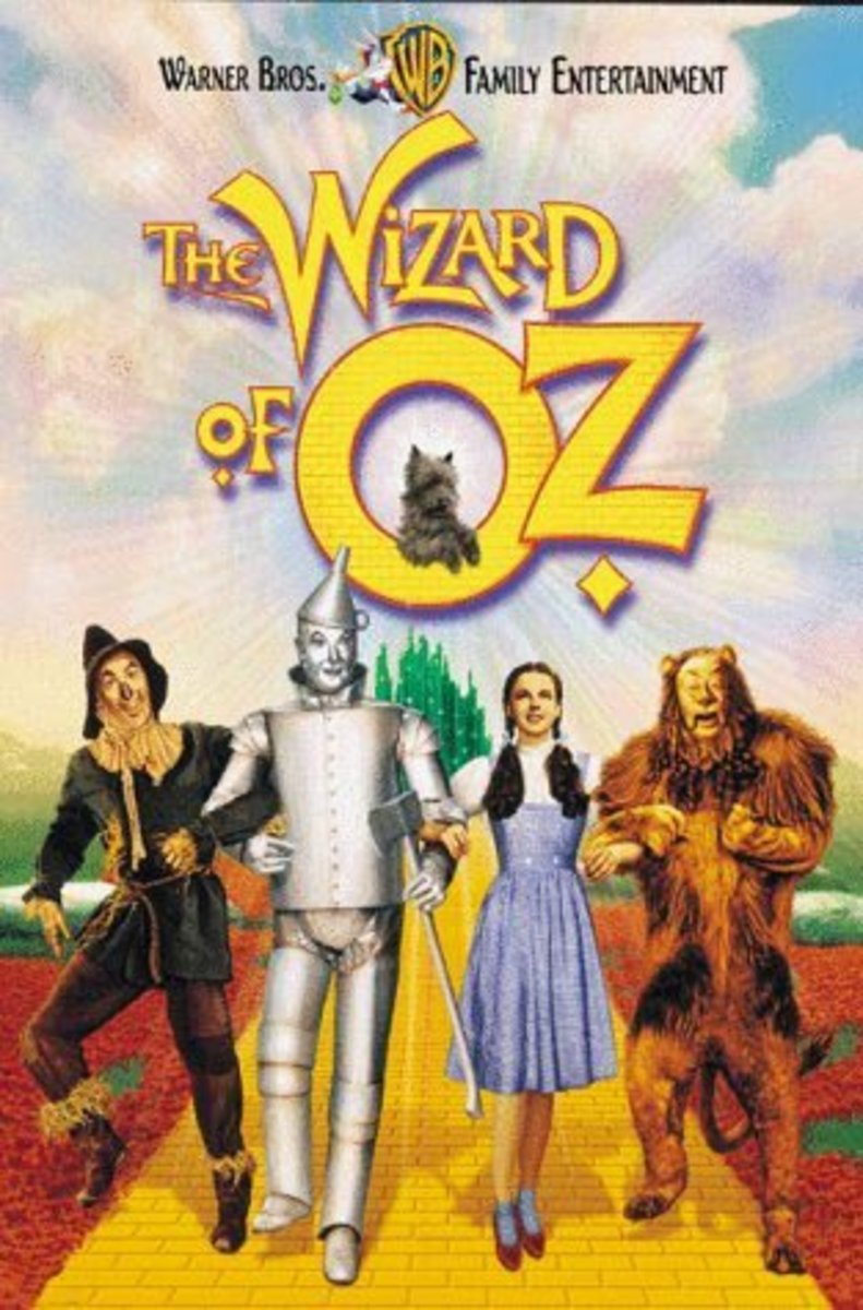 Wizard of Oz would be The first movie I ever saw in a Theatre - What was yours?