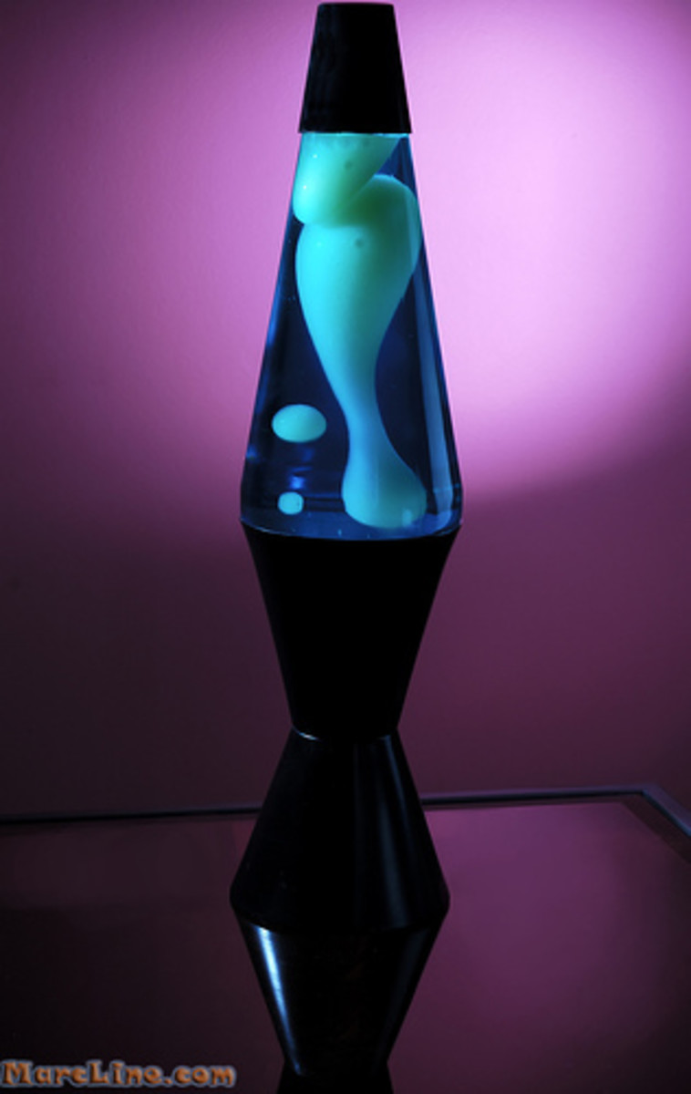 how to make a lava lamp heat up faster