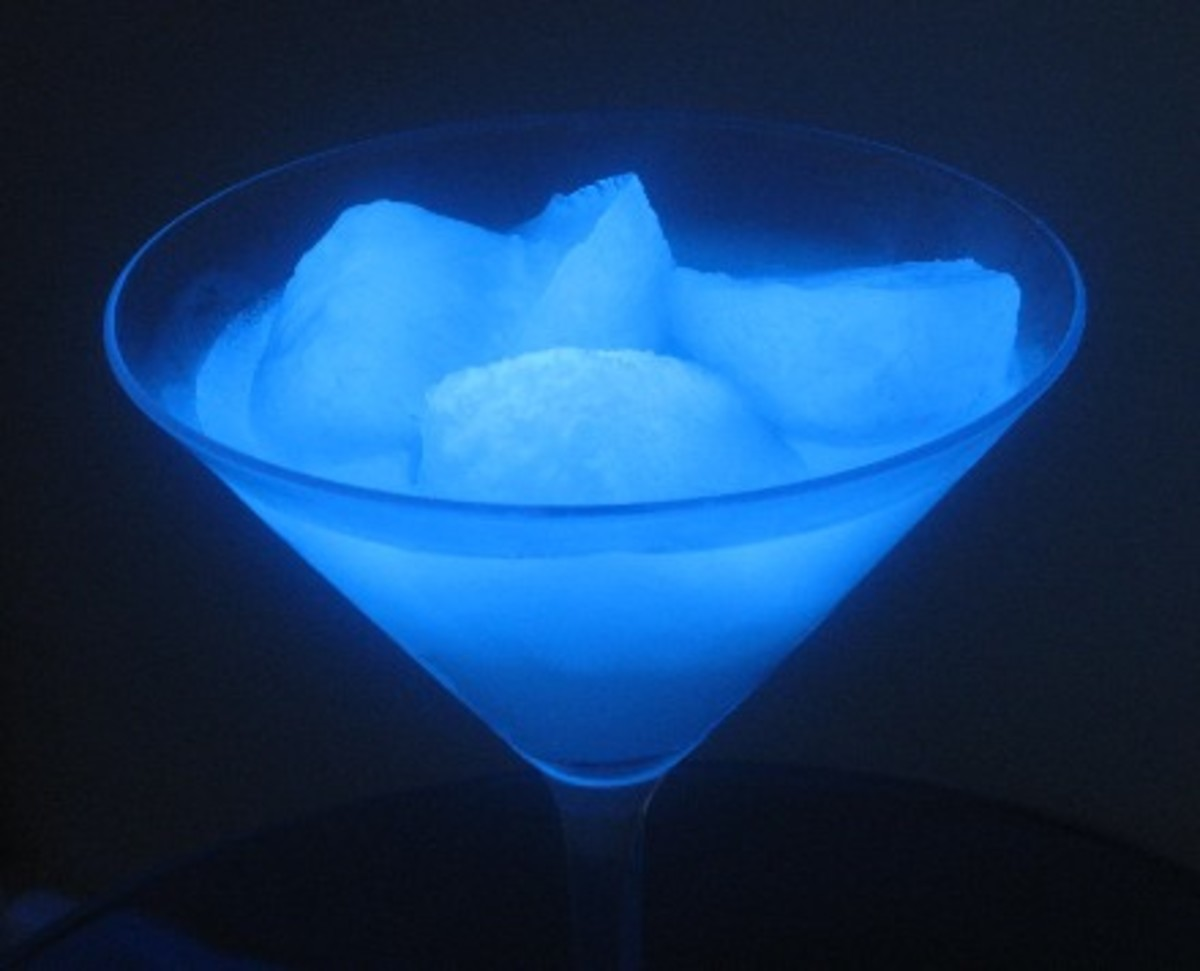 Glow In The Dark Ice Cubes