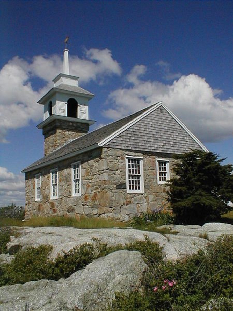 The Chapel On Star Island. This chapel is supposed to be filled with ghosts. And people claim to hear singing coming from the chapel when no one is in the chapel at all.