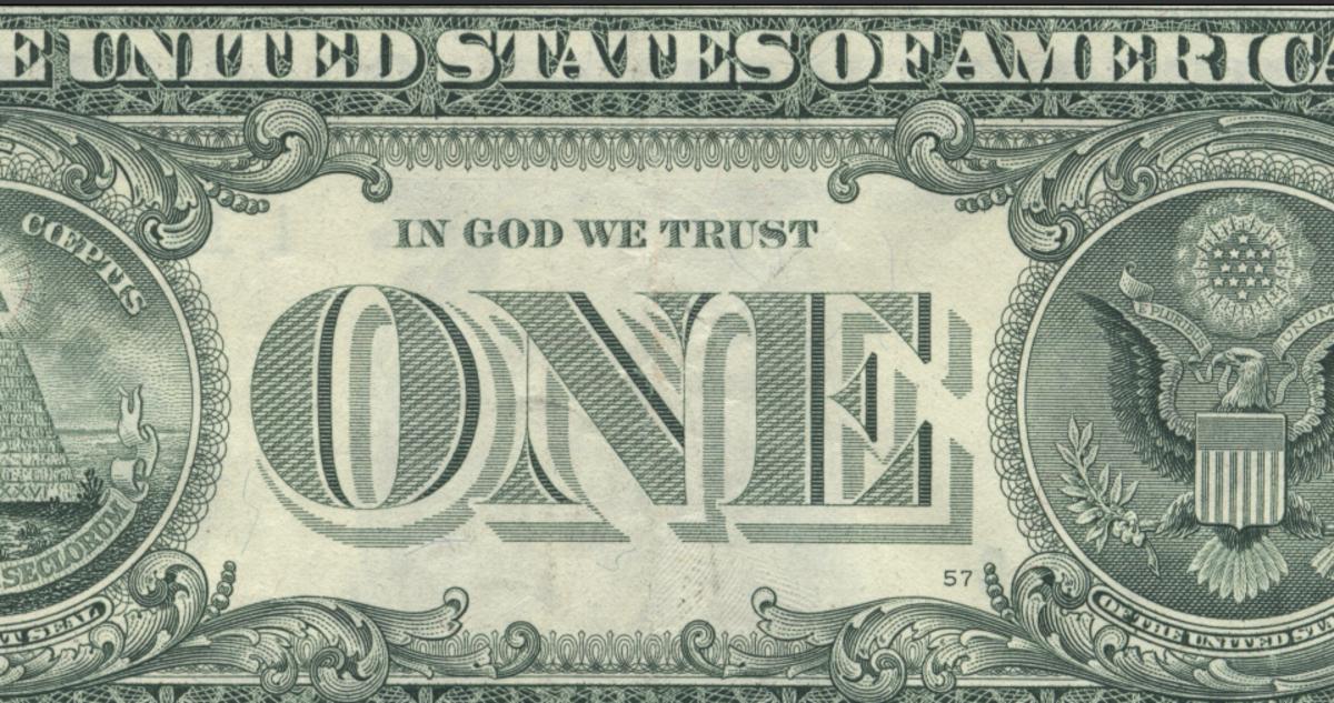 In Gad-Gawd we trust? The deity of Fortune.