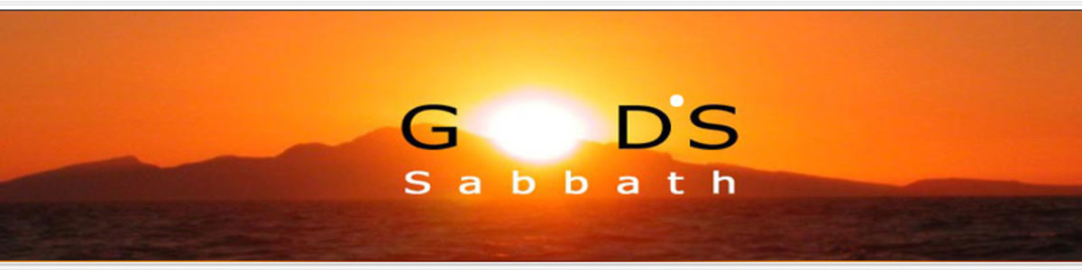 GOD'S SABBATH OR MAN'S SABBATH