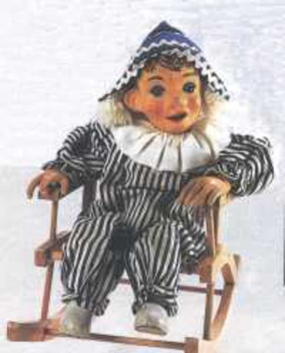 Andy from Andy Pandy which was shown on a Tuesday
