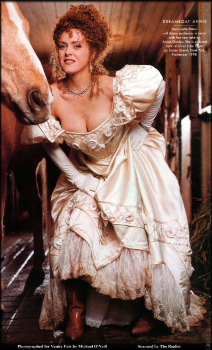 Bernadette Peters in Dreamboat Annie