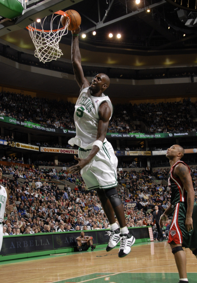 Kevin Garnett was good enough to play, which started it all...