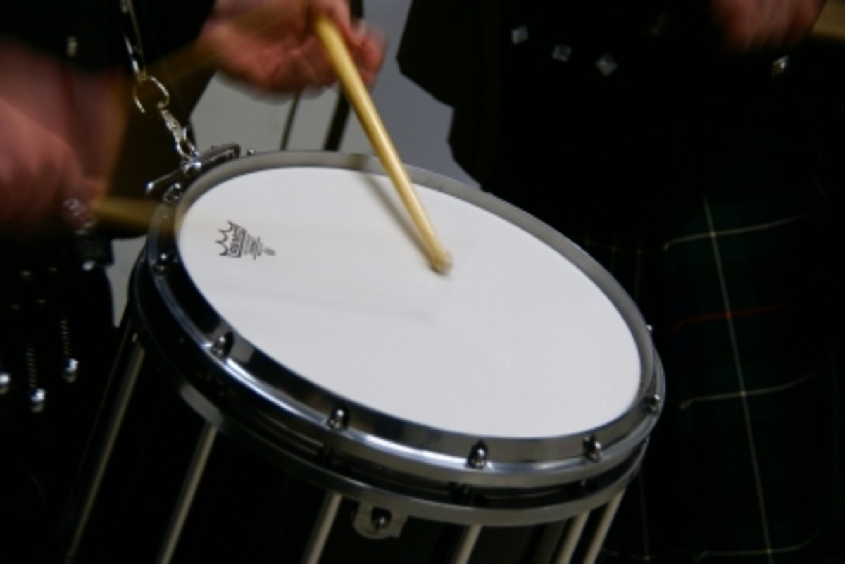Children of almost any age can enjoy playing a drum