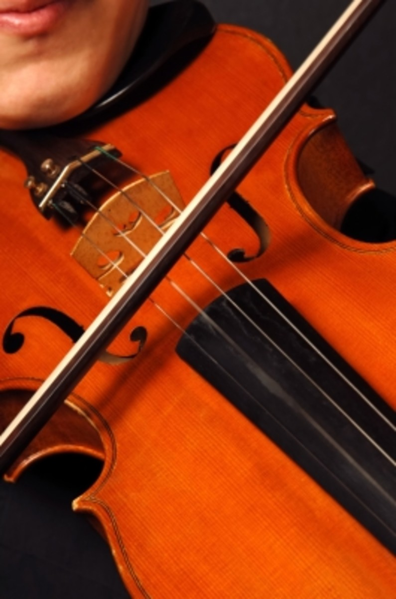 Violins are available in small sizes to suit younger players
