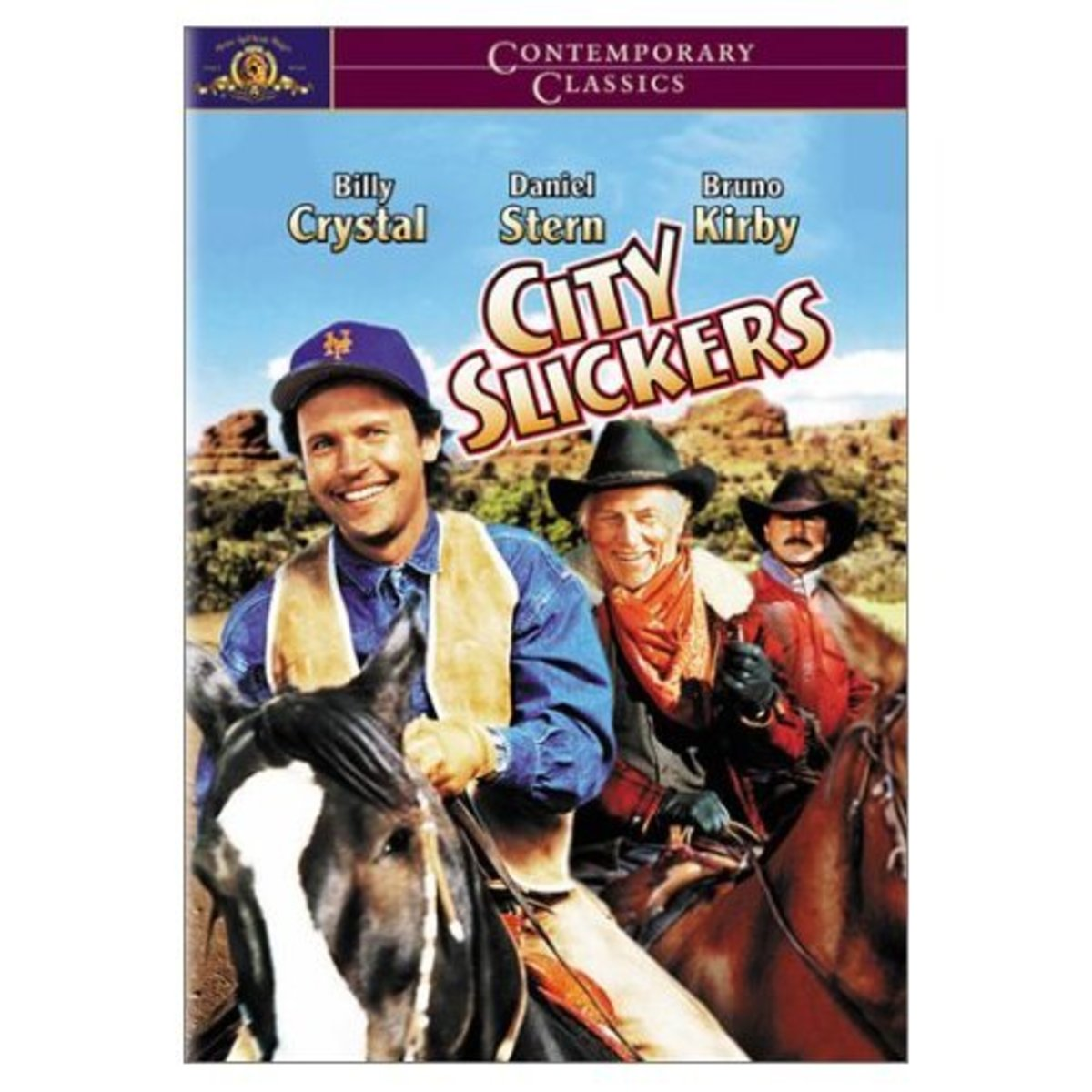 City Slickers starring Billy Crystal is about a bunch of dudes.