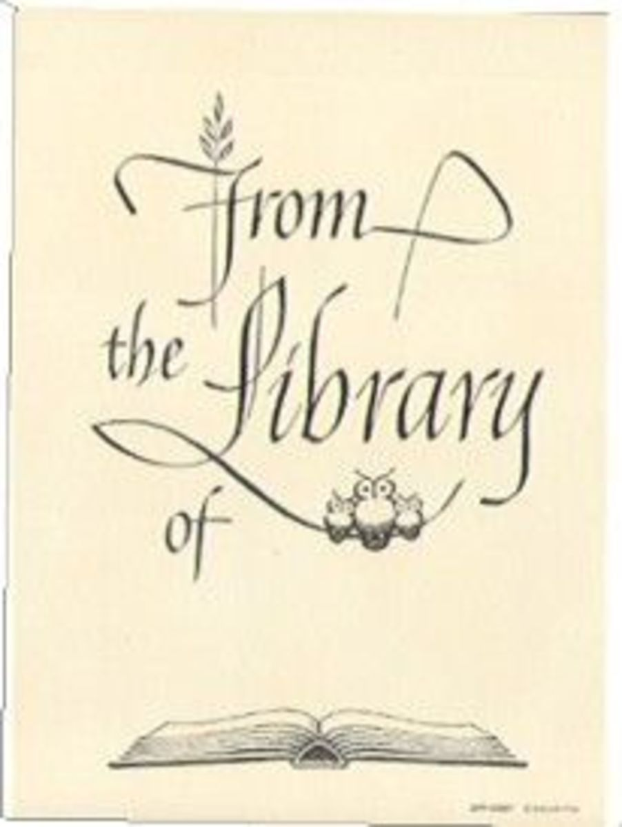 What is a bookplate and why would I want one?