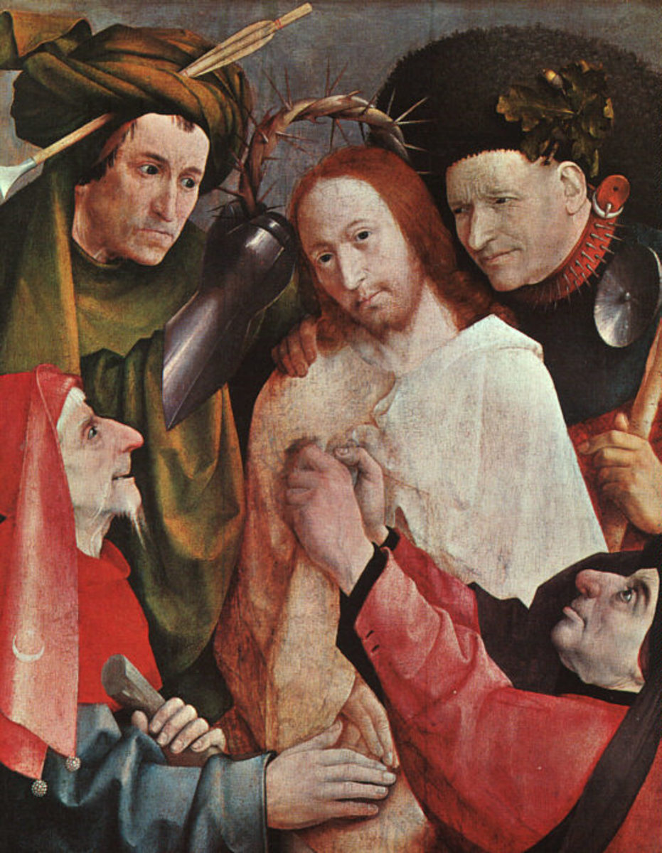 Bosch's painting of Christ mocked by the soldiers