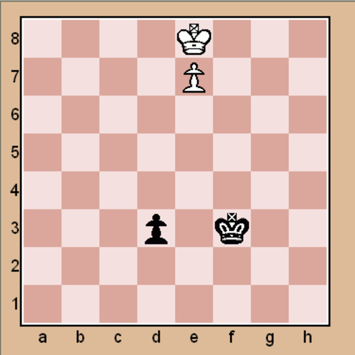 Chess end game puzzle #2 (Click to enlarge)