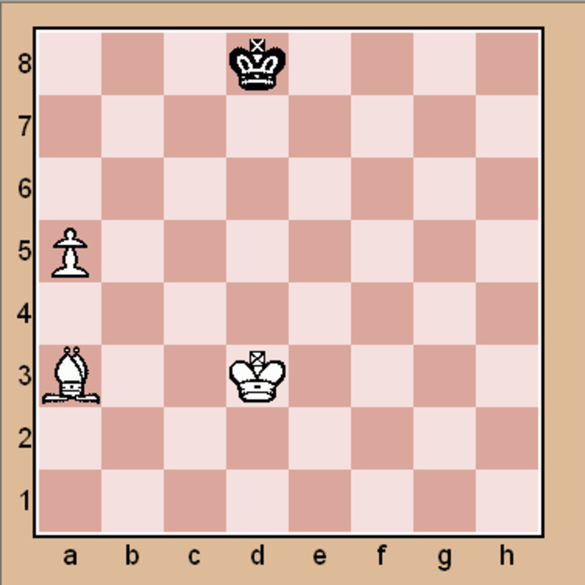 Chess end game puzzle (Click to enlarge)