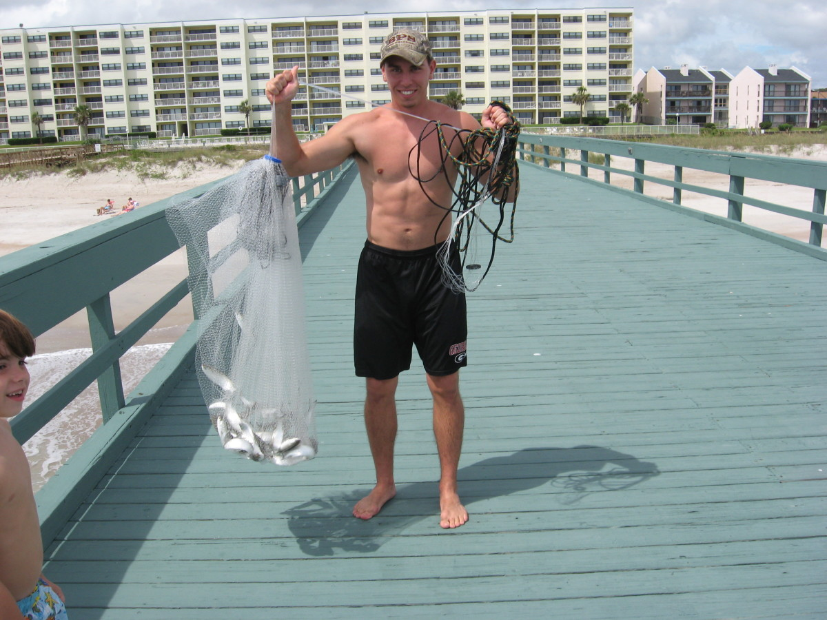 Saltwater Fishing Tips - Cast Nets: Tips for Easy Throwing, with Video