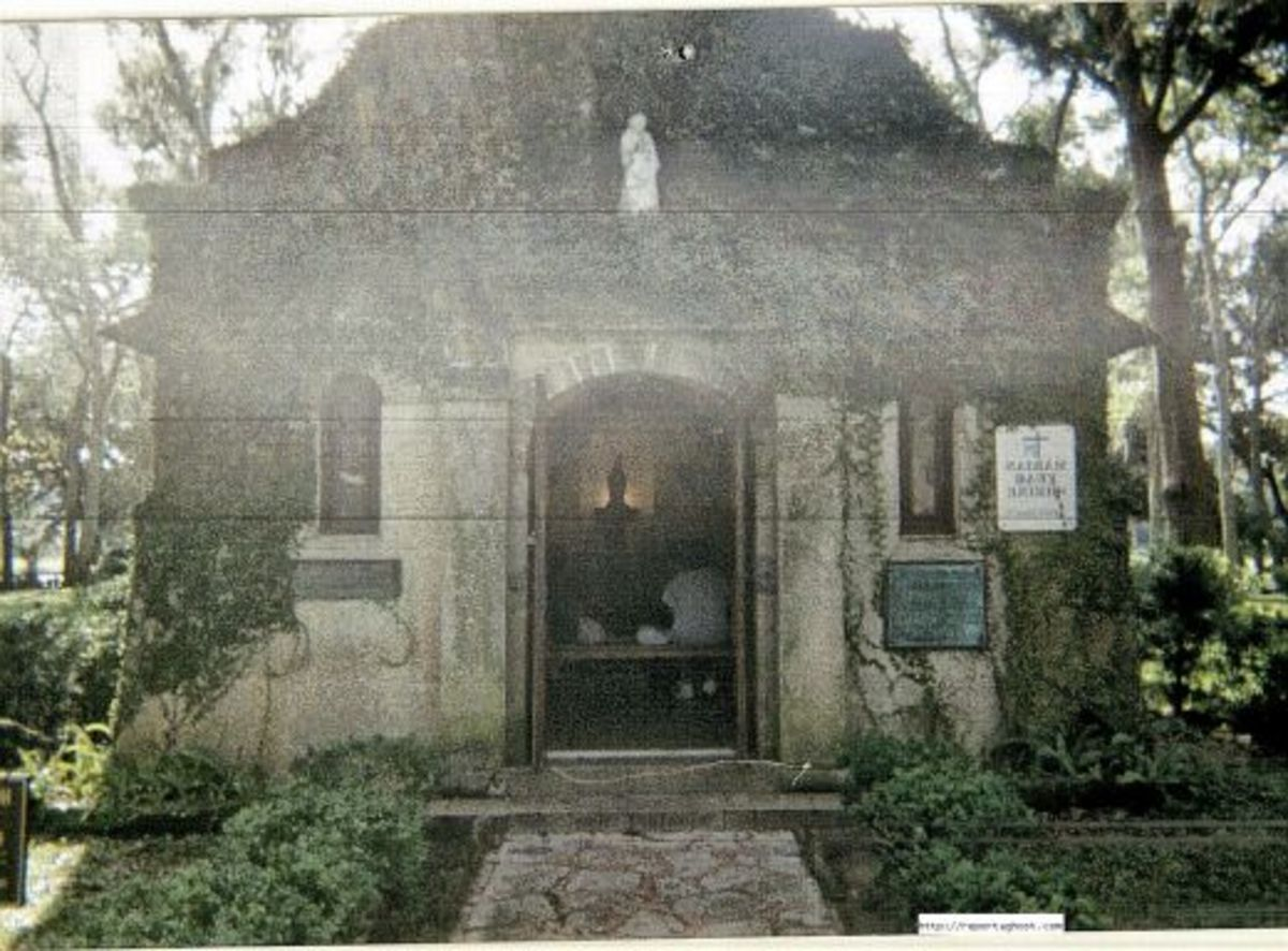 One of the oldest churches in the USA in St Augustine.