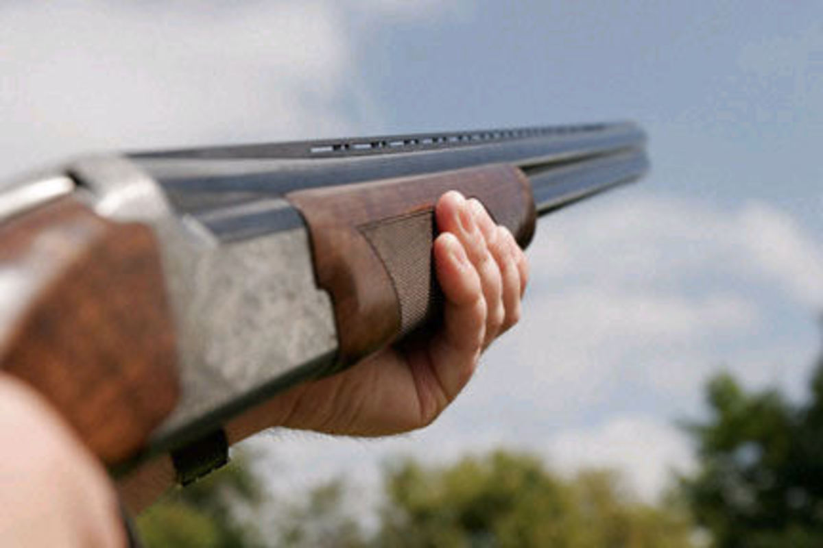 Over and under shotguns are quite common for clay bird shooting