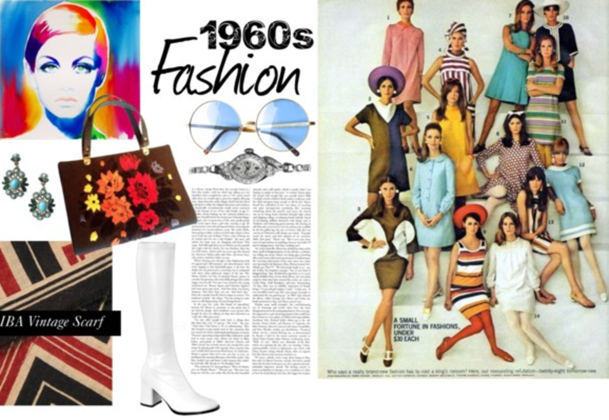 Trends of the 60s Women