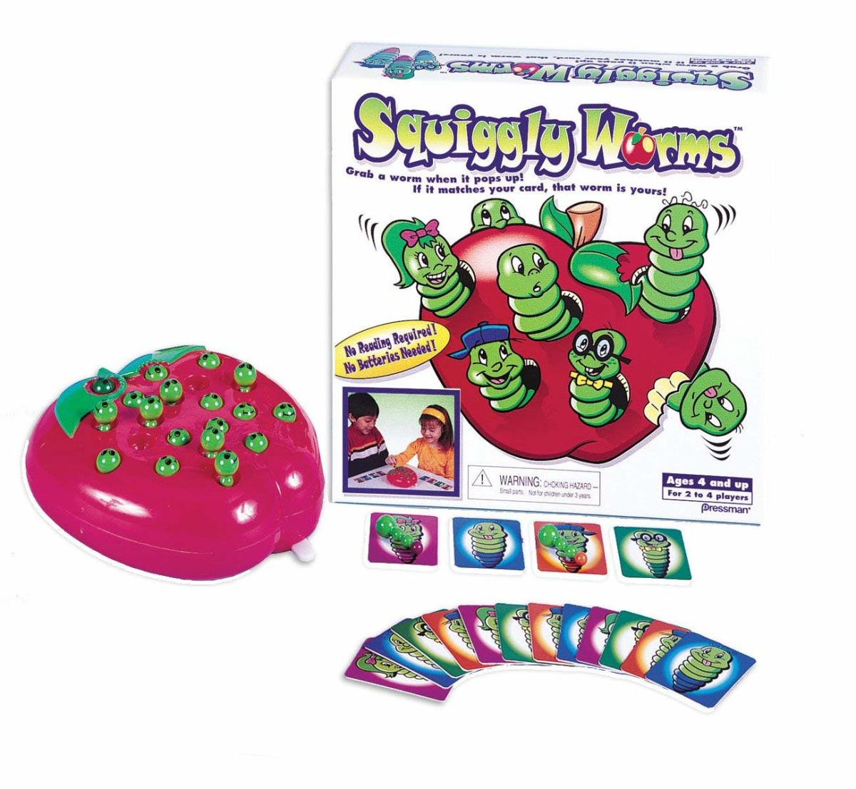 Squiggly Worms game