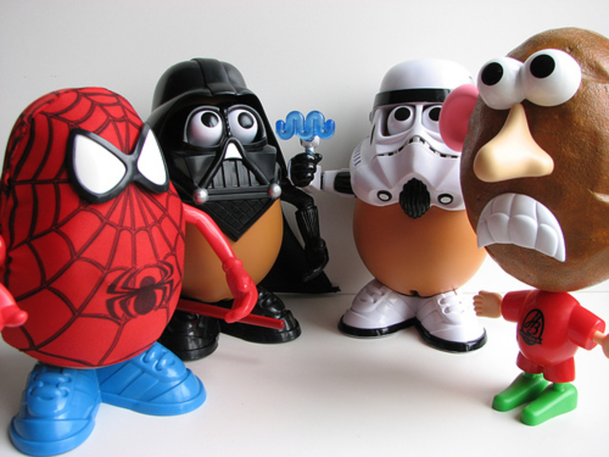 There are now many options on Mr. Potato Head, such as Spider Spud, Darth Tater and Spud Trooper