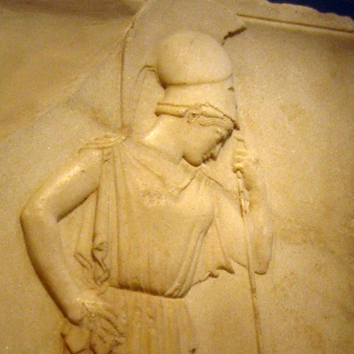 Mourning Athena