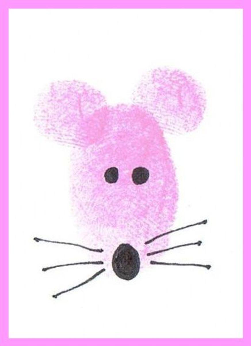 thumbprint mouse