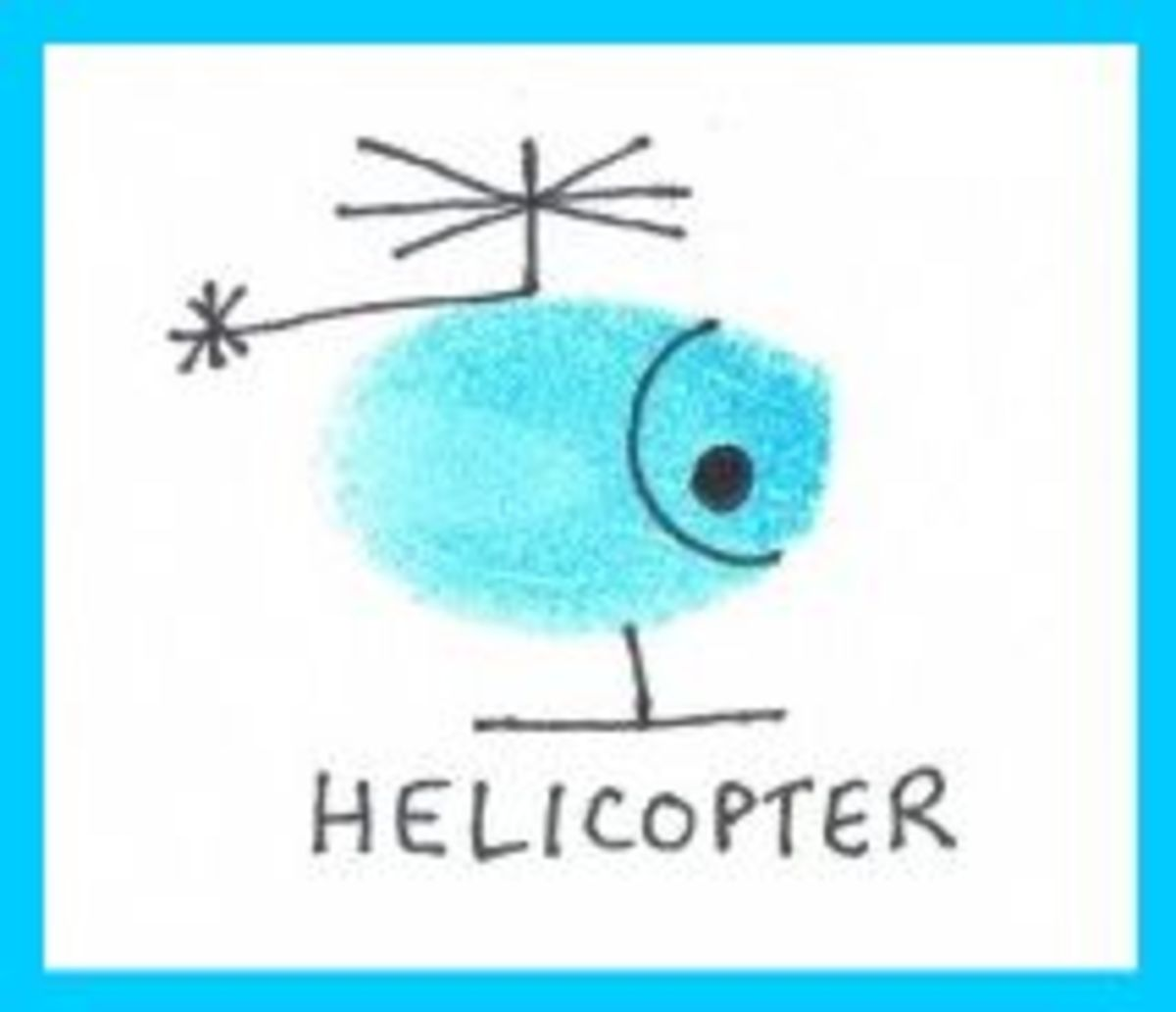 helicopter art