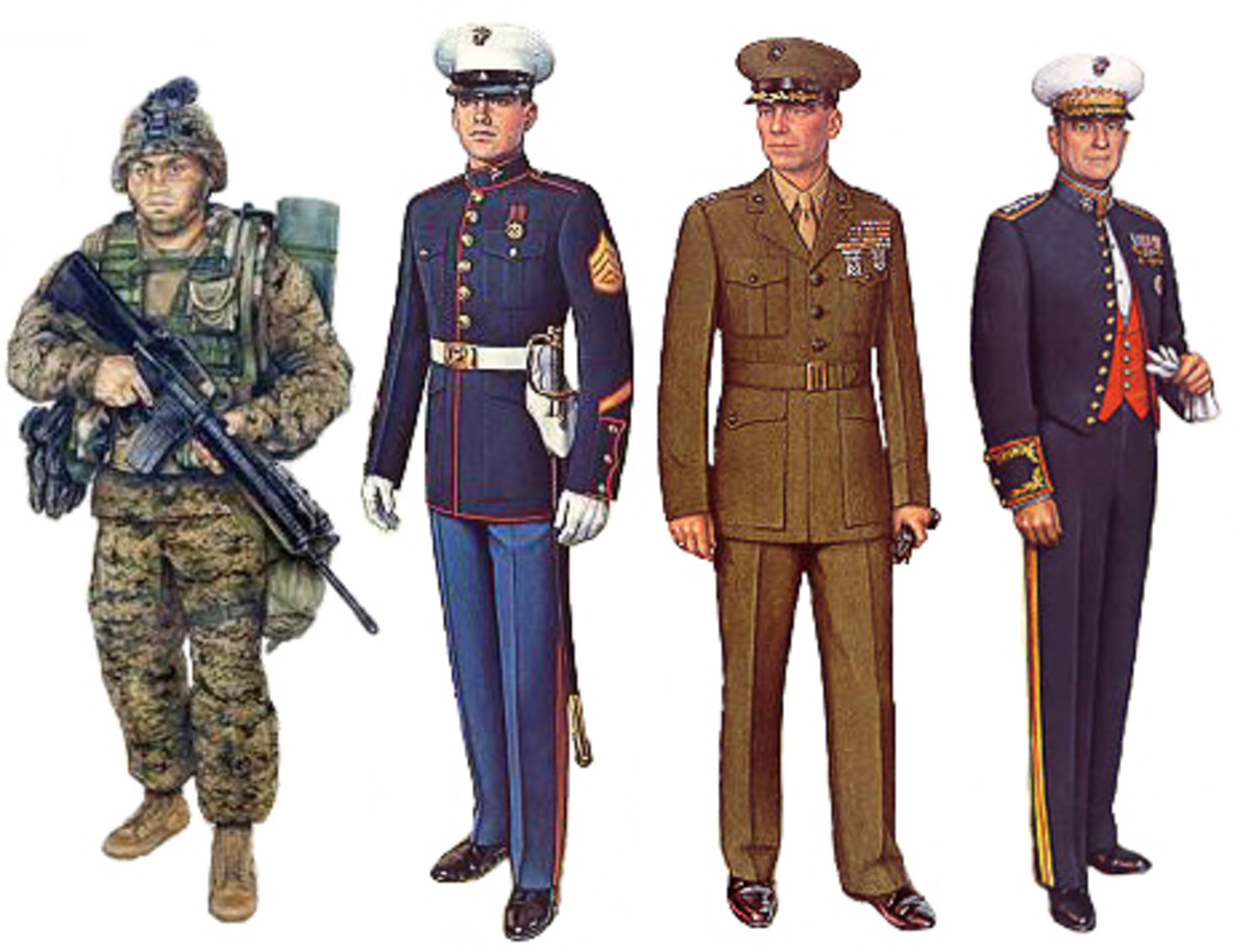 Men in Uniform (Photo Credit: Wikimedia Commons)