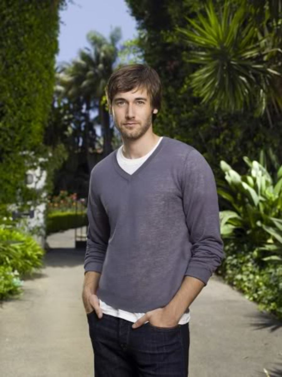Ryan Eggold Shaggy Hairdo