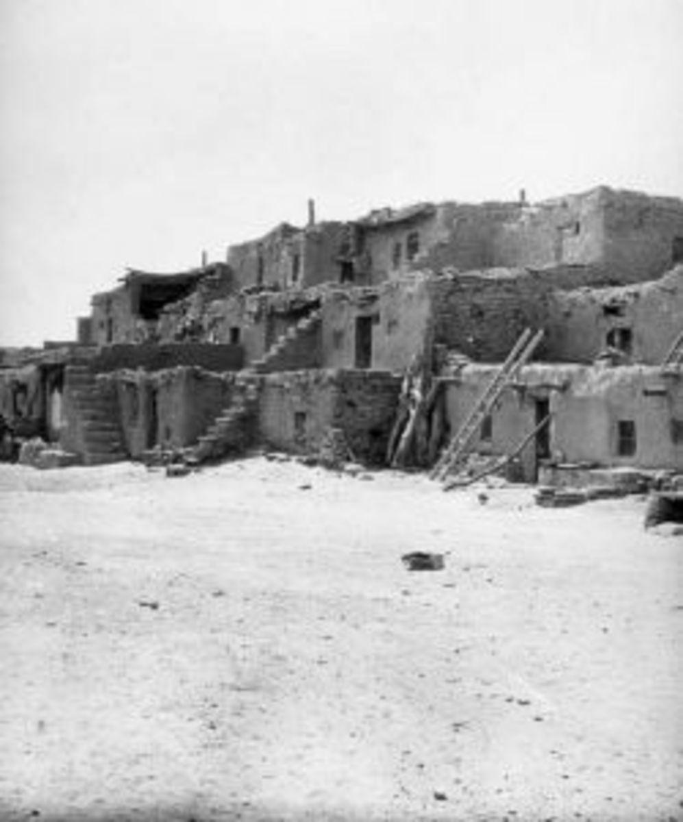 Oraibi Pueblo, circa 1899
