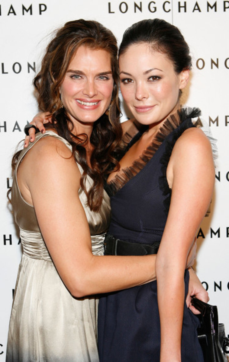 Lindsay Price and Brooke Shield